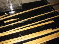 Toothpick Composite Lumber